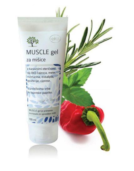 Muscle gel za ogrevanje mišic