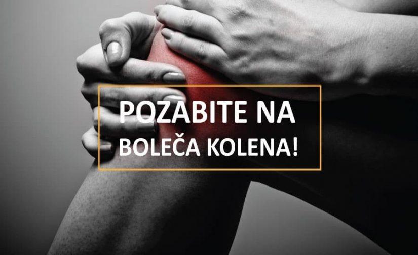 Kako lajšati bolečine v kolenu?